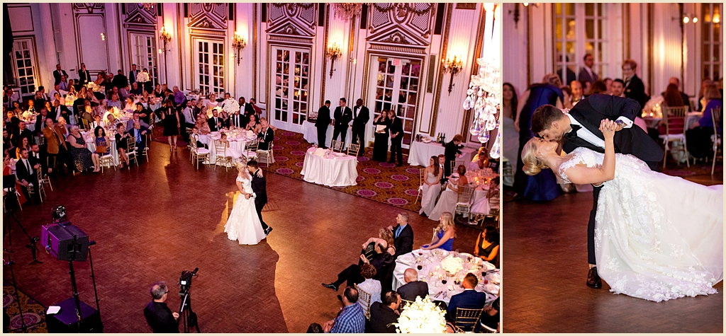 Boston Ballroom Wedding Fairmont Copley Plaza Venue