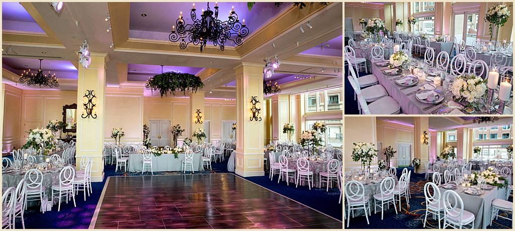 Boston Harbor Hotel Ballroom Wedding