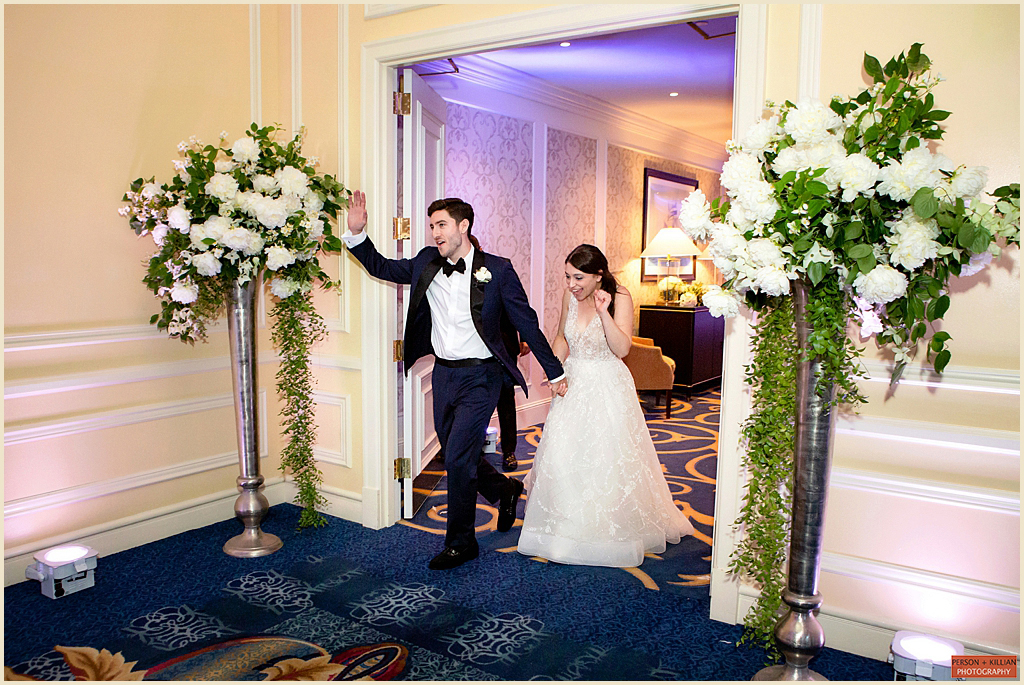 Ballroom Wedding Boston Harbor Hotel