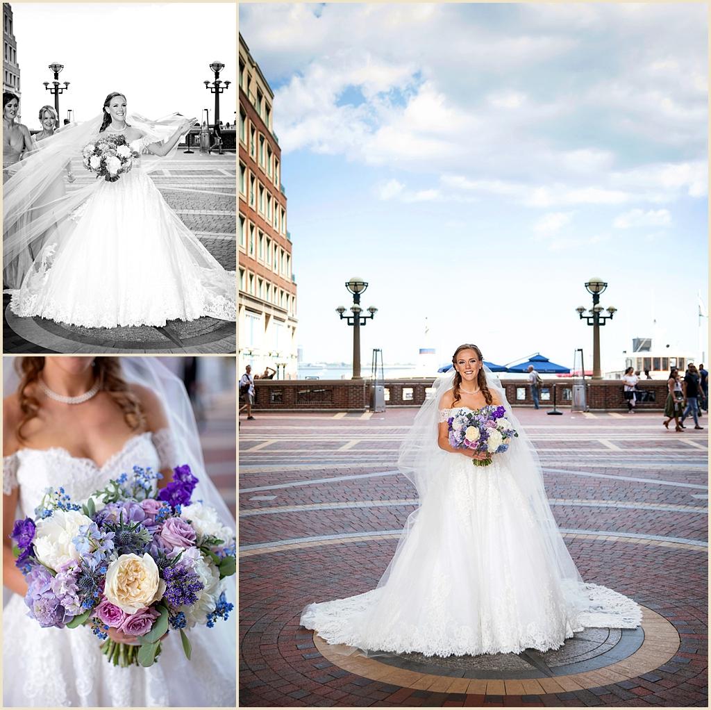 Boston Harbor Summer Wedding