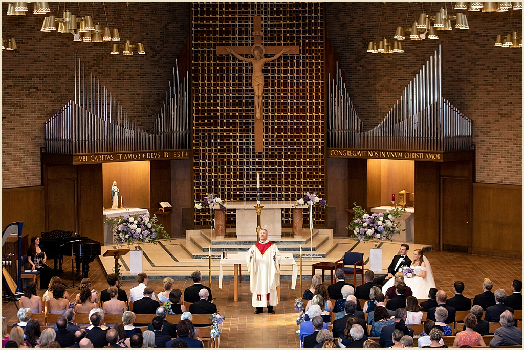 Trinity Chapel Boston Wedding Ceremony