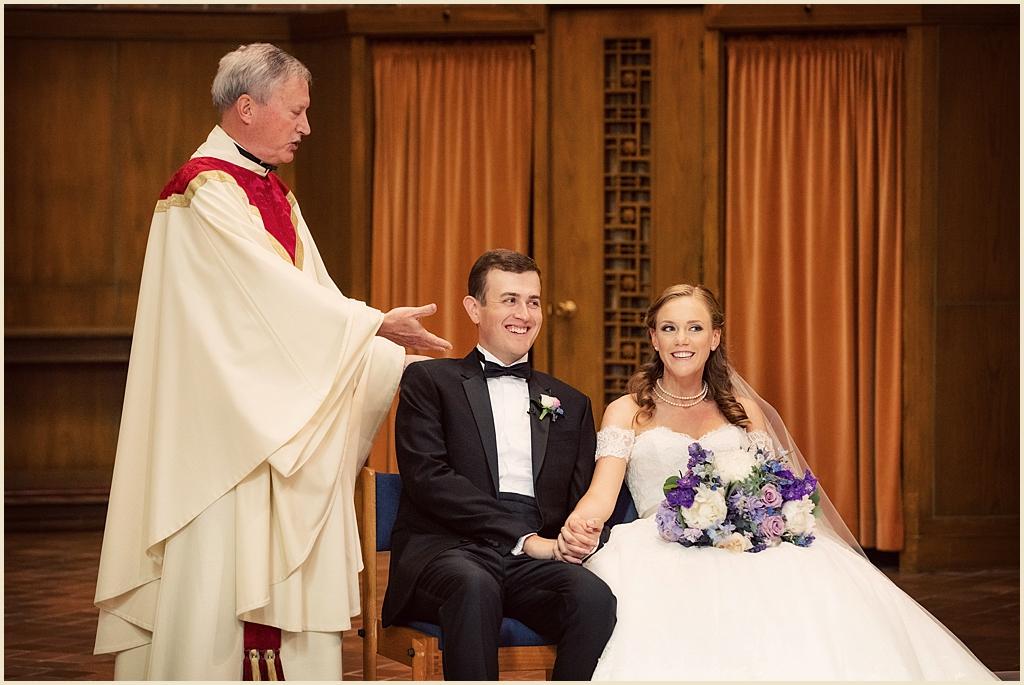 Boston Wedding Ceremony Trinity Chapel