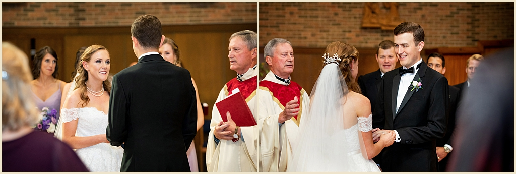 Trinity Chapel Boston College Wedding
