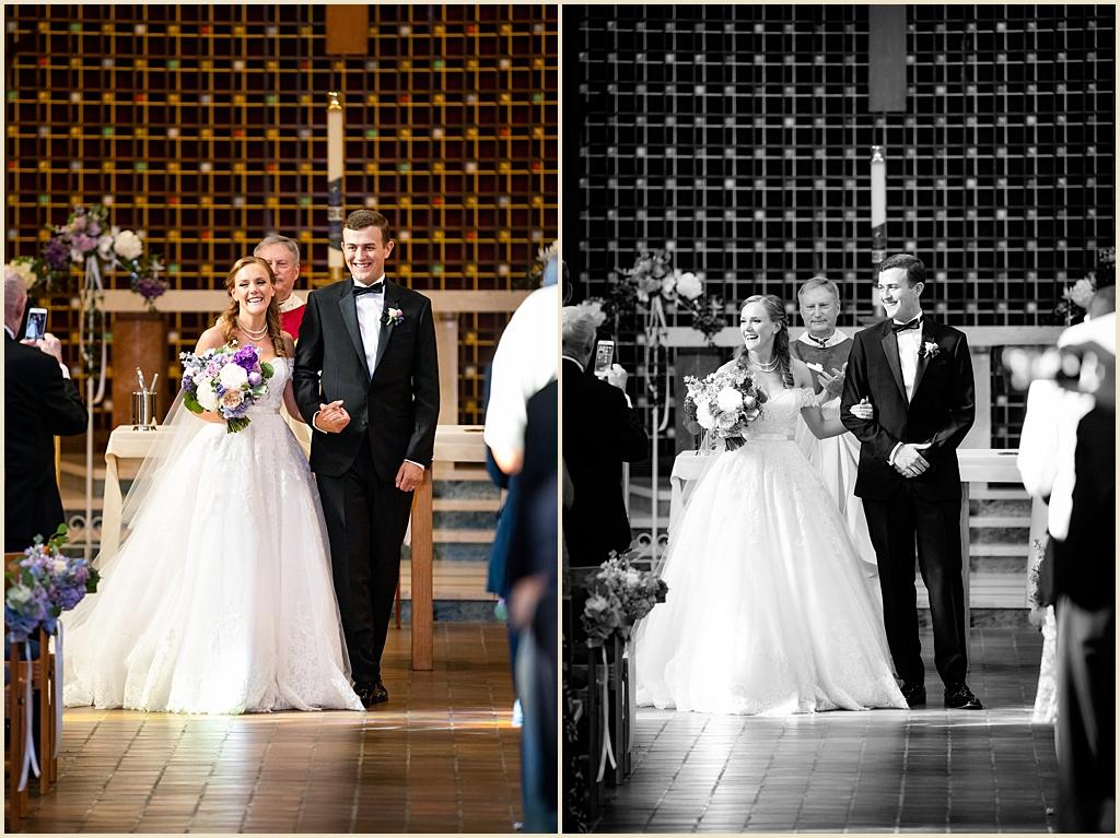 Boston College Trinity Chapel Wedding
