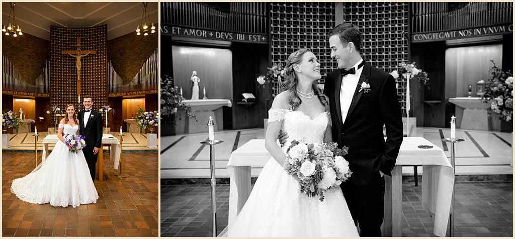 Boston Wedding Trinity Chapel