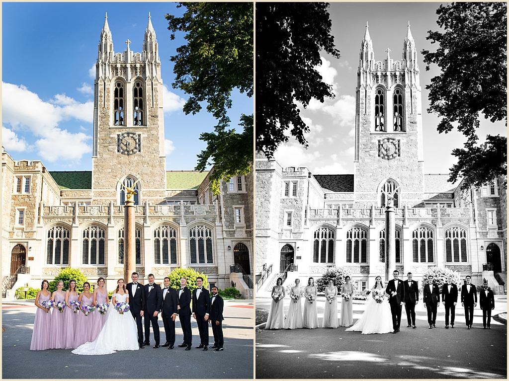 Boston College Wedding Trinity Chapel
