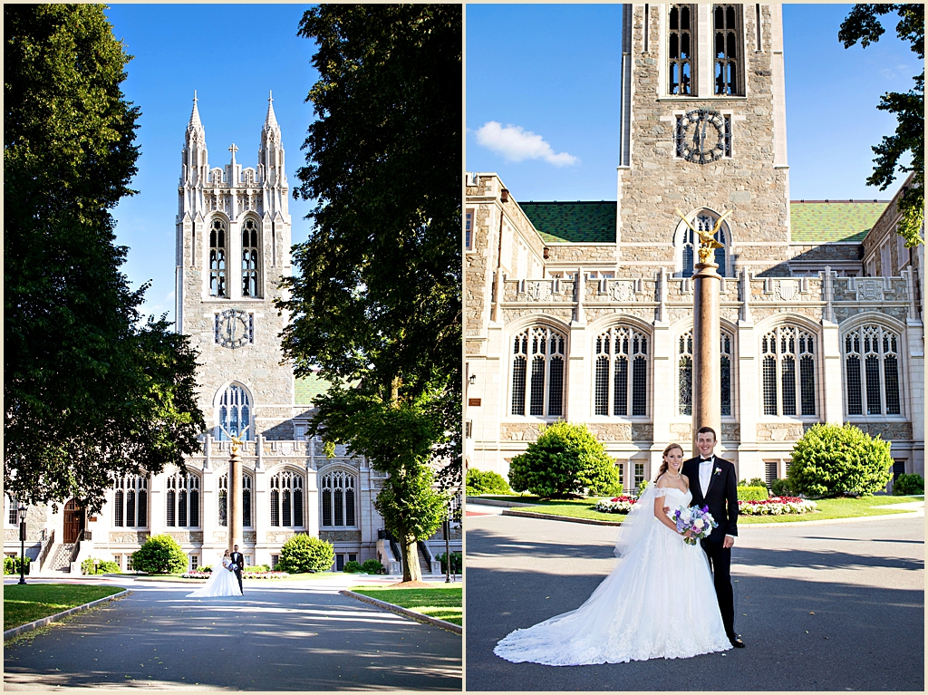 Trinity Chapel Boston College Wedding Photography