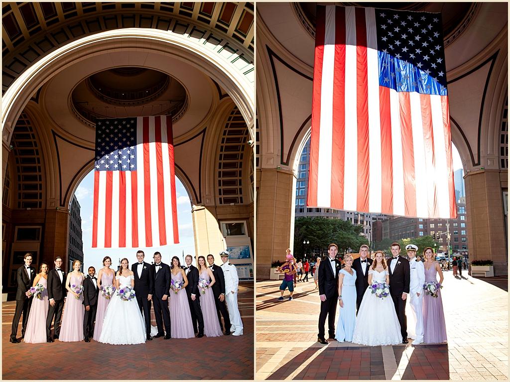 Boston Harbor Hotel Summer Wedding