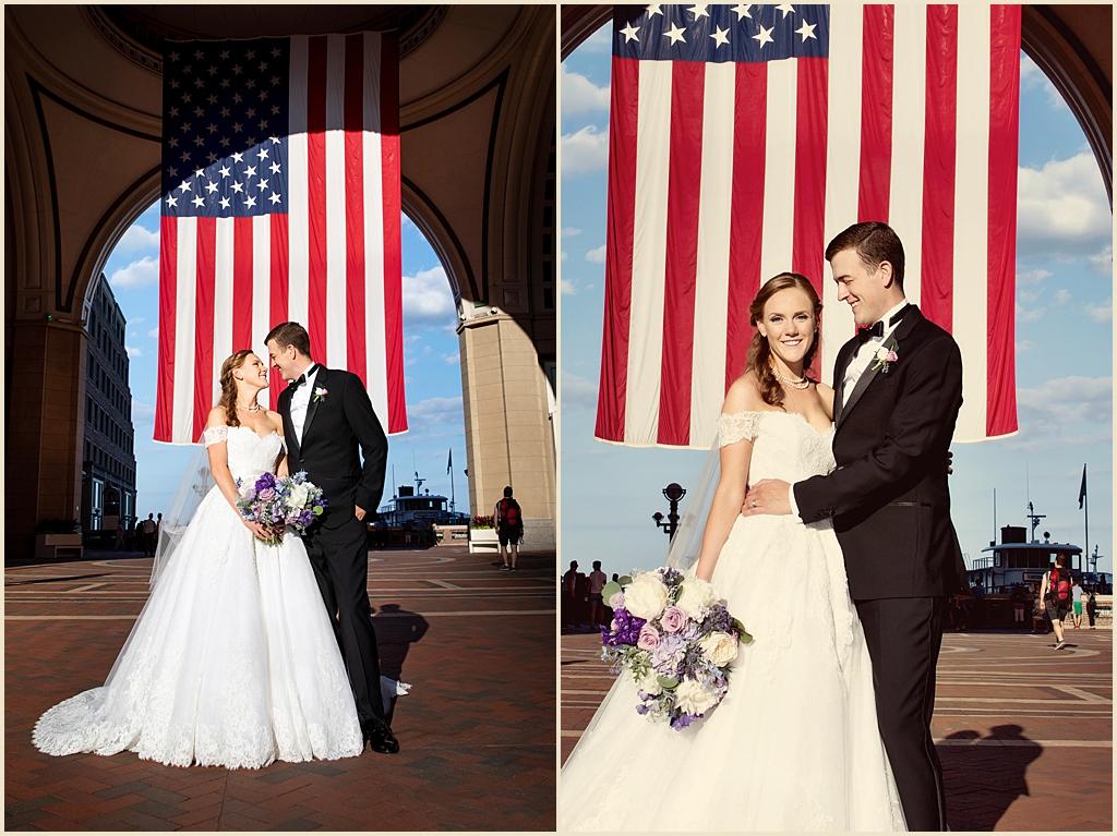 Boston Summer Wedding Boston Harbor Hotel