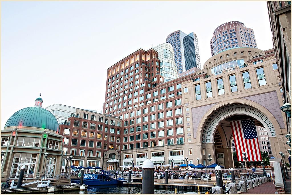Waterfront Wedding Boston Harbor Hotel