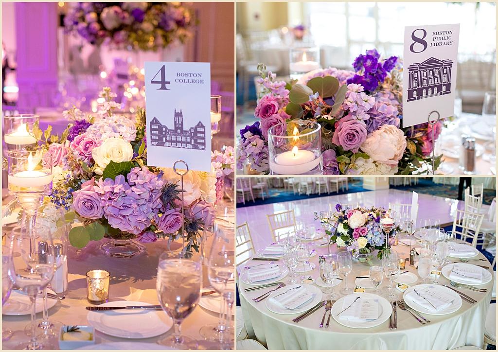 Boston Harbor Hotel Wharf Room Wedding