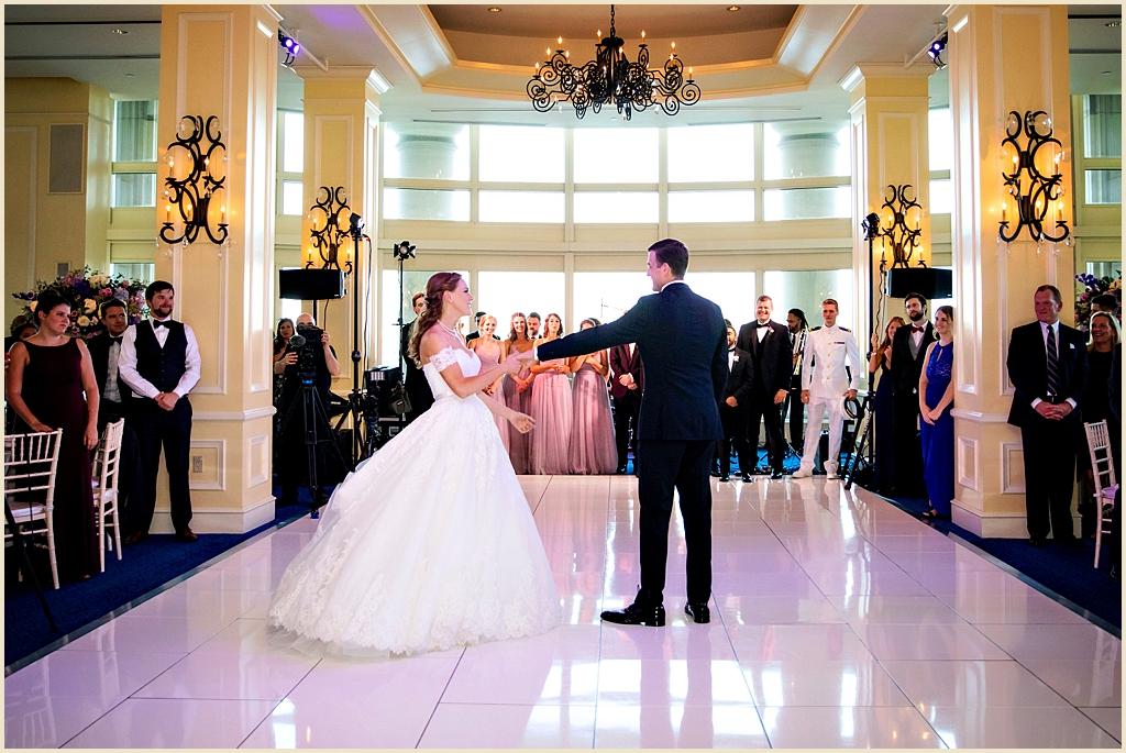 Boston Harbor Hotel Wedding Reception