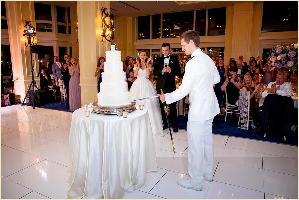 Boston Wedding USNA Navy