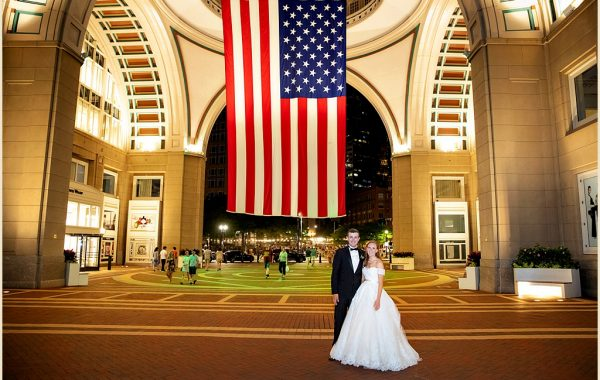 Summer Wedding of Olivia + Brian at the Boston Harbor Hotel