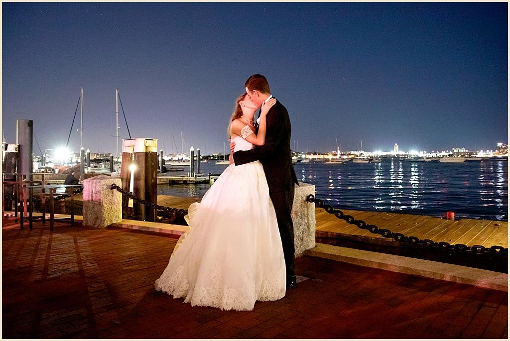 Boston Harbor Wedding Summer
