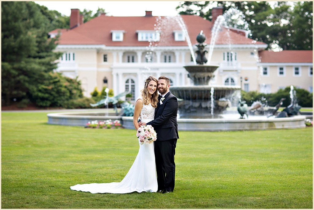 Boston Estate Wedding Tupper Manor