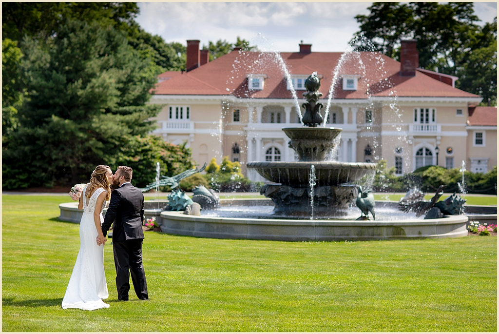 Boston Summer Wedding Tupper Manor