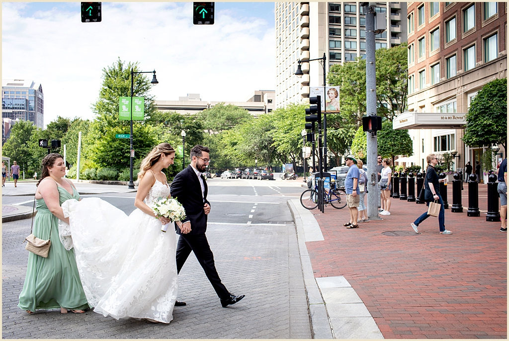 Boston Harbor Hotel Summer Wedding