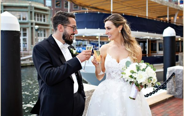 Becca and Dan's Boston Wedding at the Boston Harbor Hotel