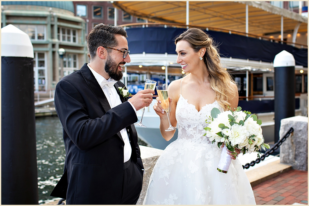 Waterfront Boston Wedding