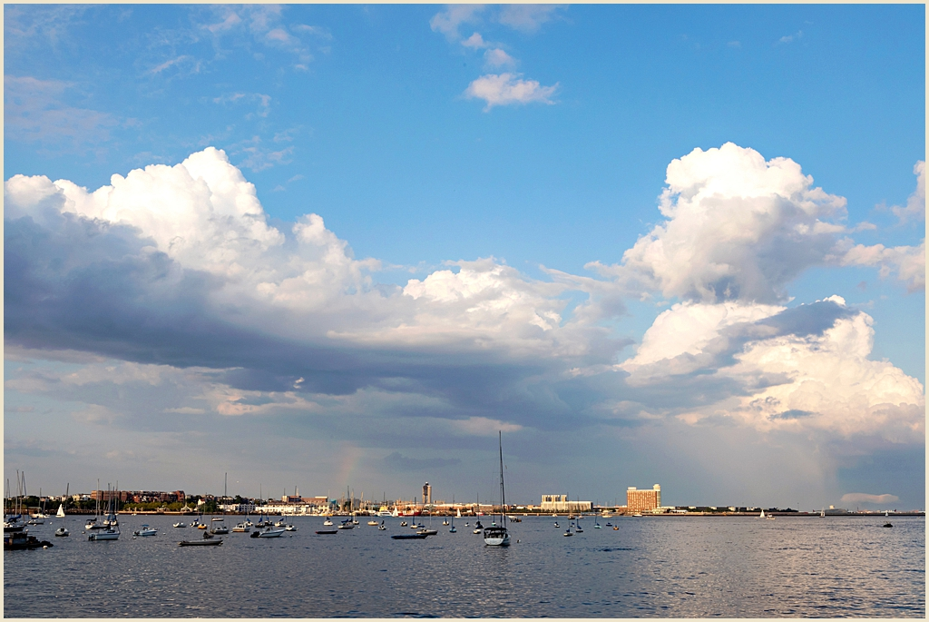 Boston Harbor Summer Wedding Venue