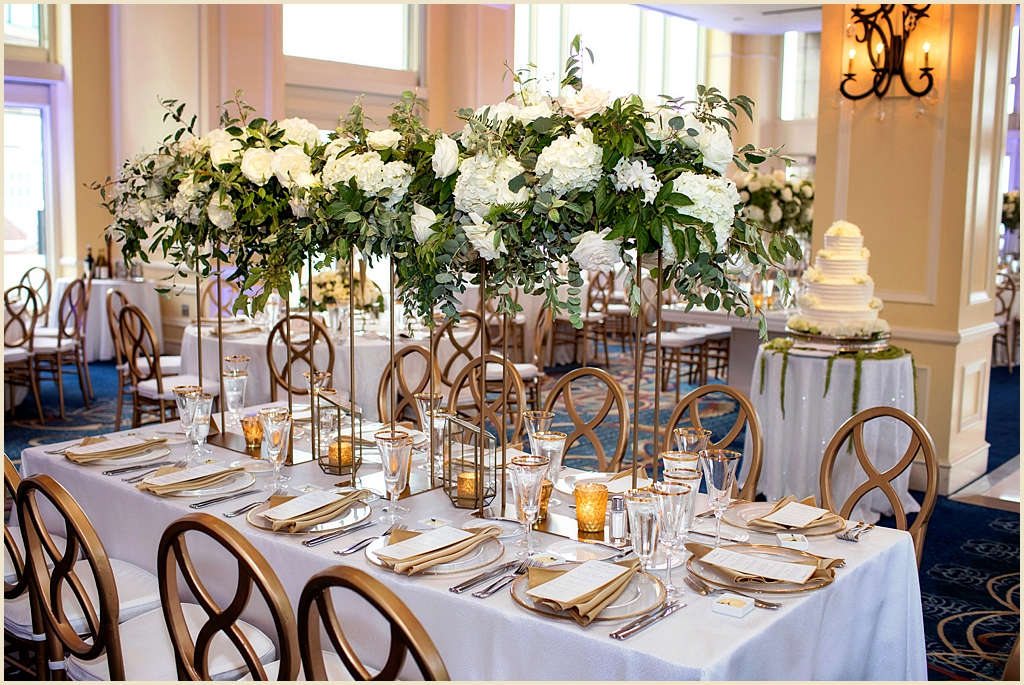 Summer Wedding Boston Harbor Hotel Wharf Room