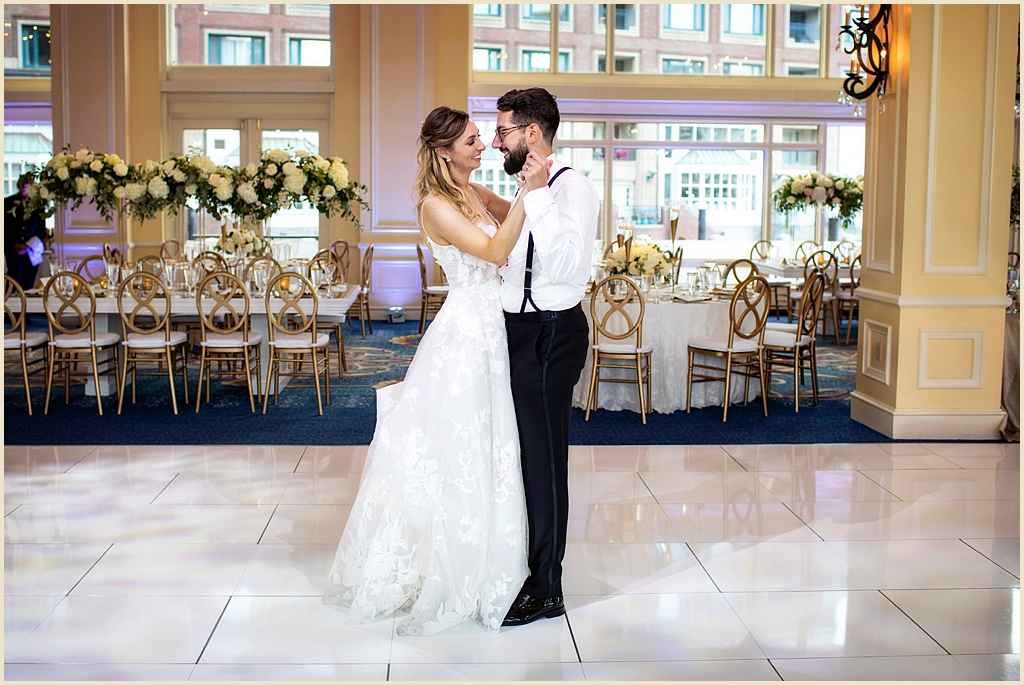 Boston Harbor Hotel Wharf Room Wedding Venue