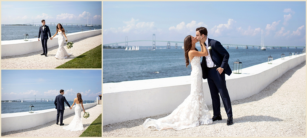 Summer Wedding Newport RI Belle Mer