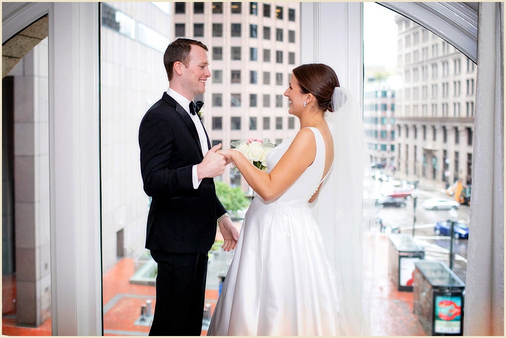 Ames Hotel Boston Summer Wedding