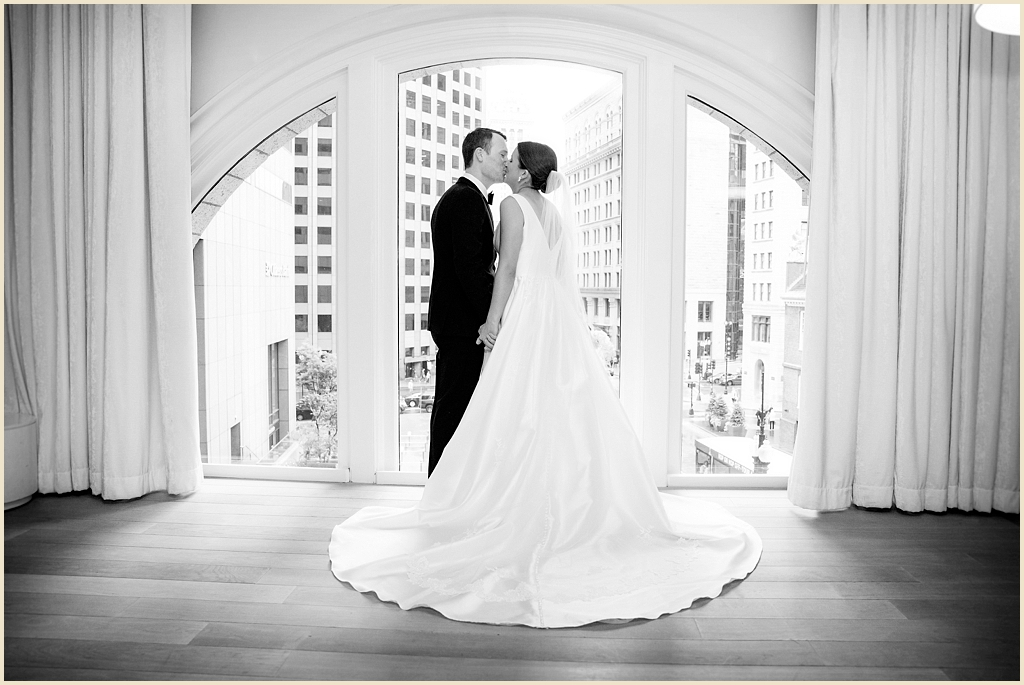 Summer Wedding Ames Hotel Boston