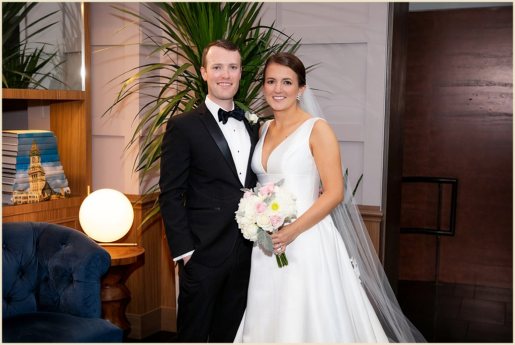 Boston Wedding Photography Ames Hotel
