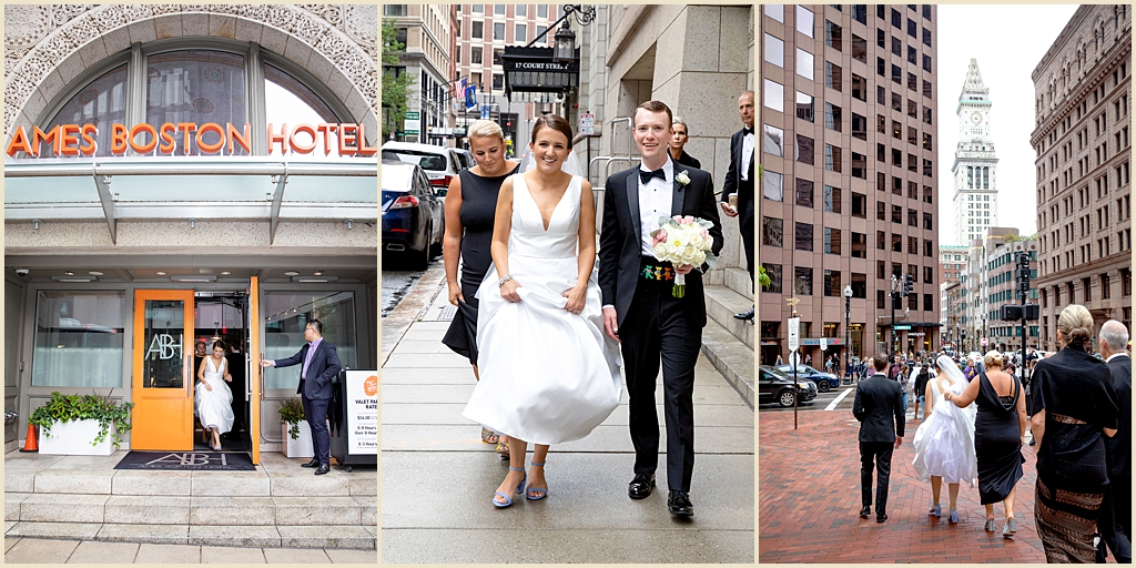 Ames Boston Hotel Wedding