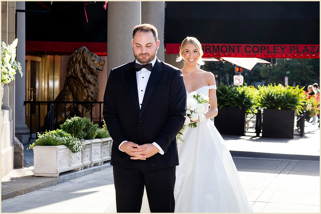 Copley Square Boston Wedding
