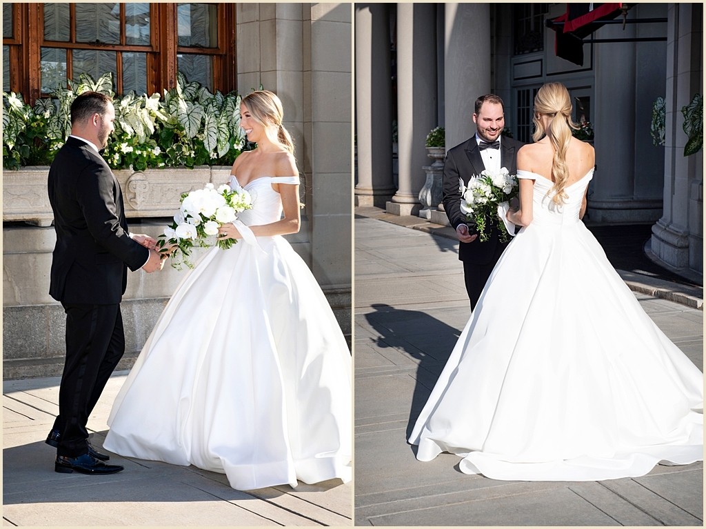 Boston Wedding Copley Square