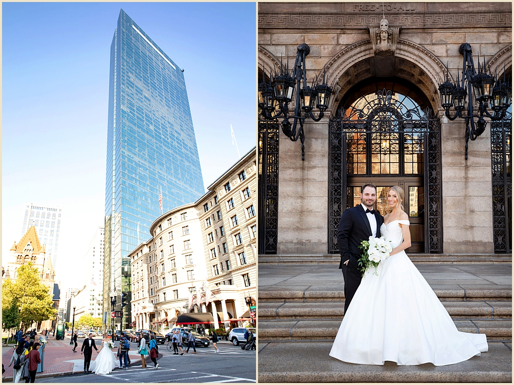 Copley Square Boston Public Library Wedding
