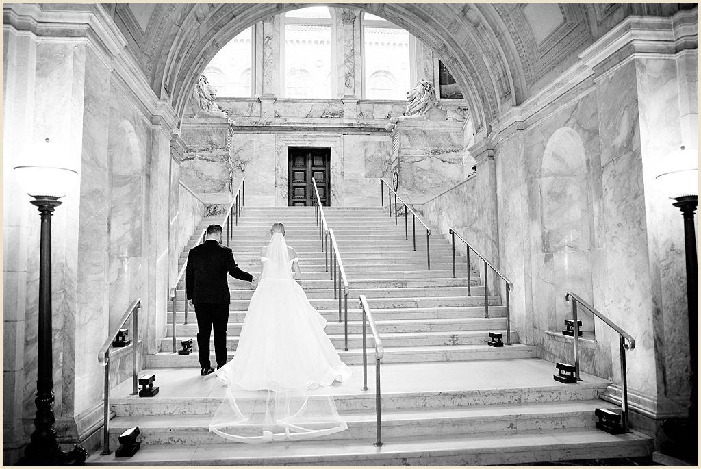 Summer Wedding Boston Public Library