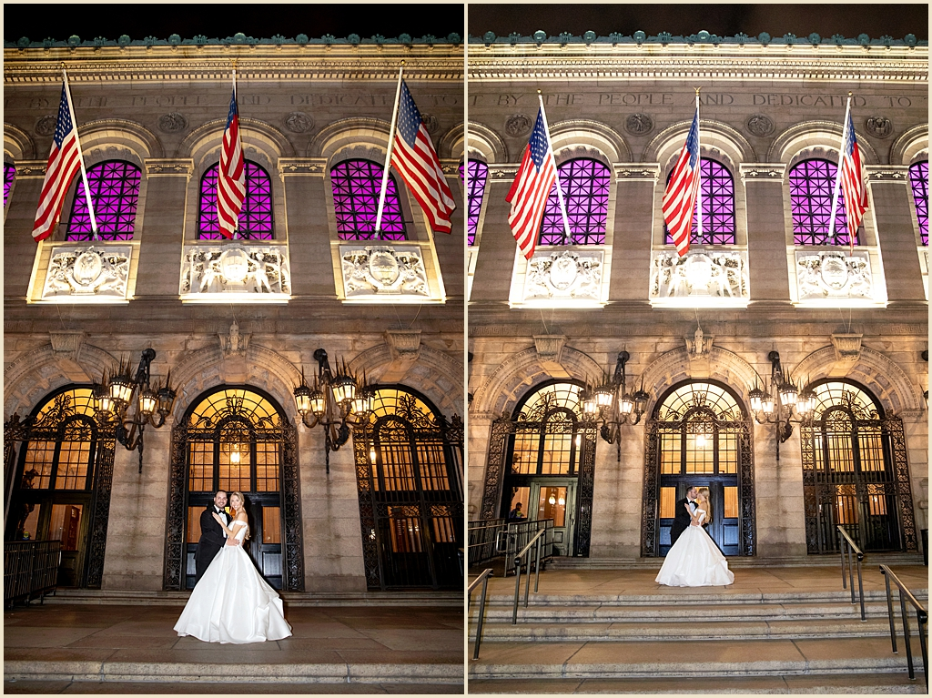 Copley Square Wedding Venue Boston Public Library