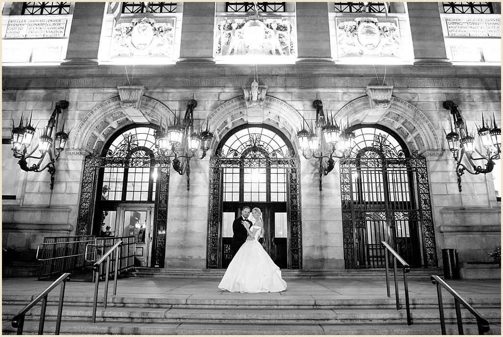 BPL Boston Public Library Wedding