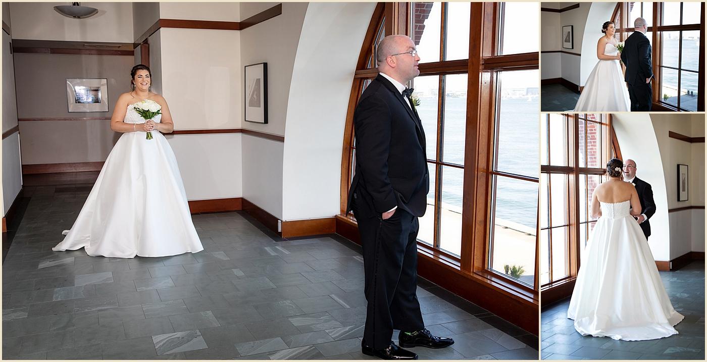 Boston Seaport Wedding The Exchange
