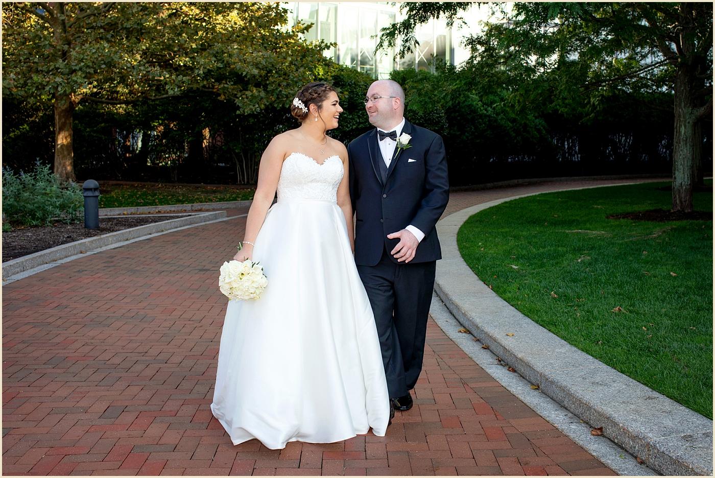 Boston Seaport Fan Pier Wedding