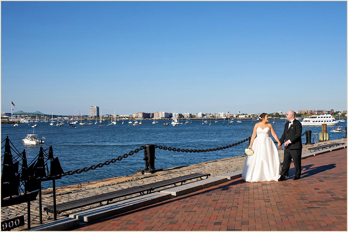 Fan Pier Boston Seaport Wedding