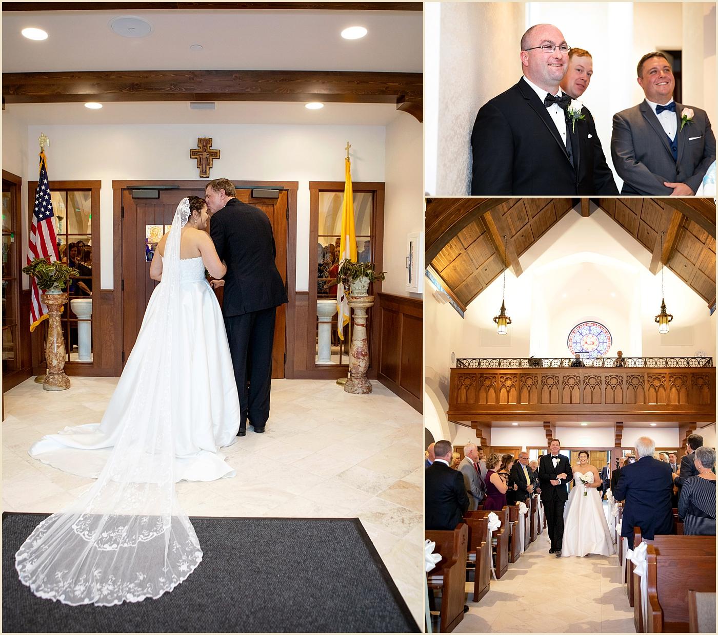 Our Lady of Good Voyage Boston Wedding