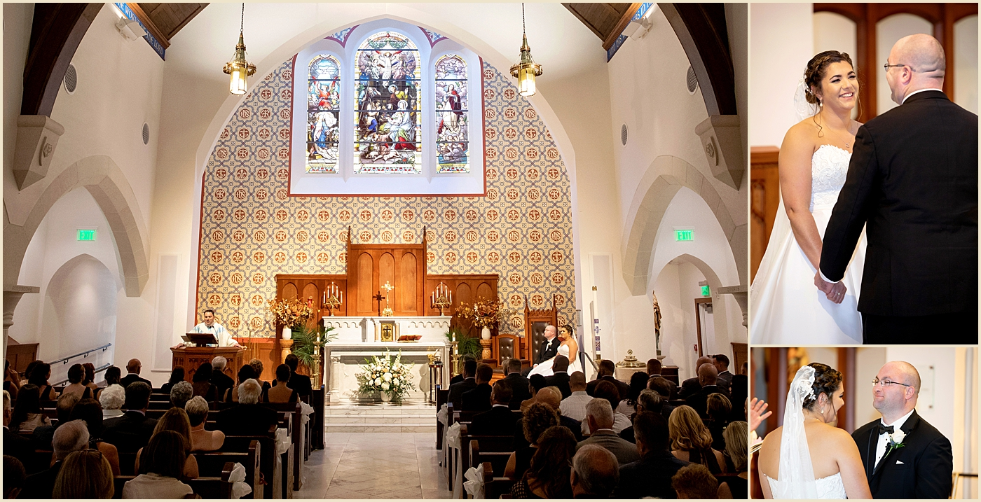 Our Lady of Good Voyage Boston Wedding Ceremony