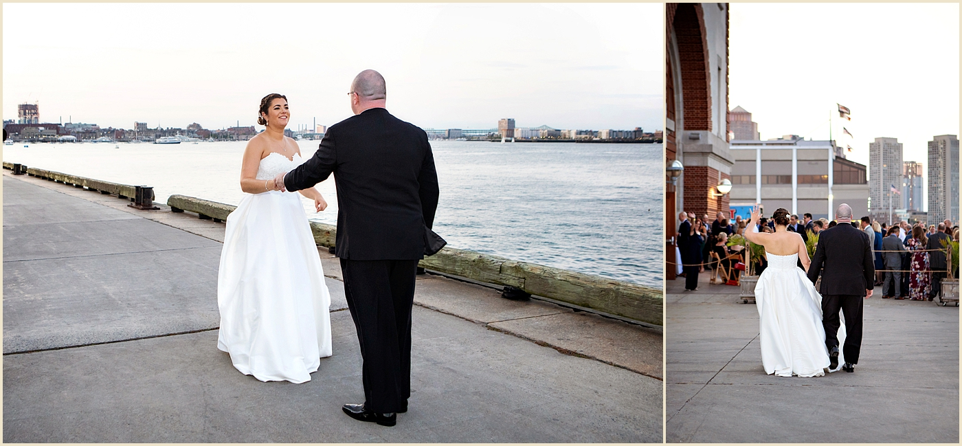 Seaport Boston Wedding The Exchange