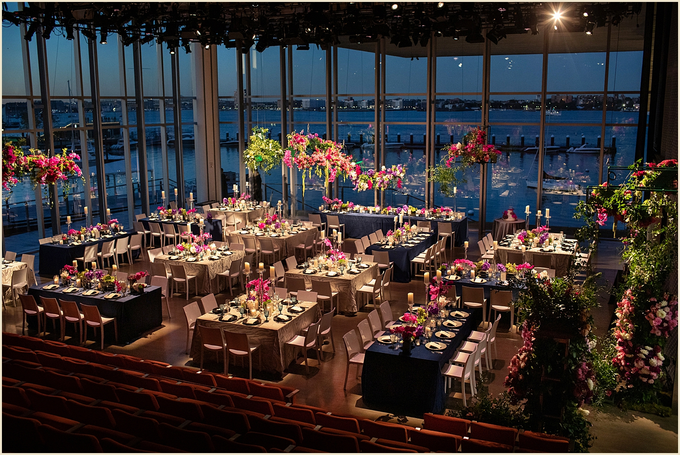 ICA Boston Theater Wedding