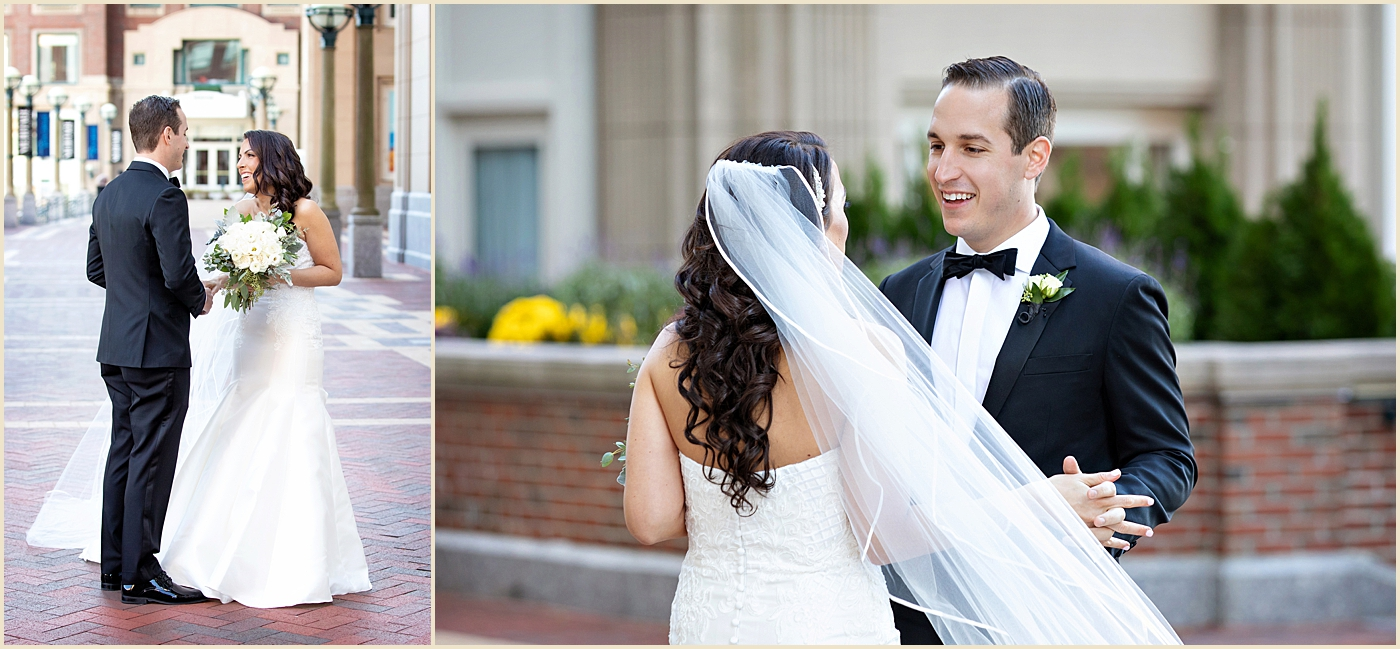 Fall Wedding Boston Harbor Hotel