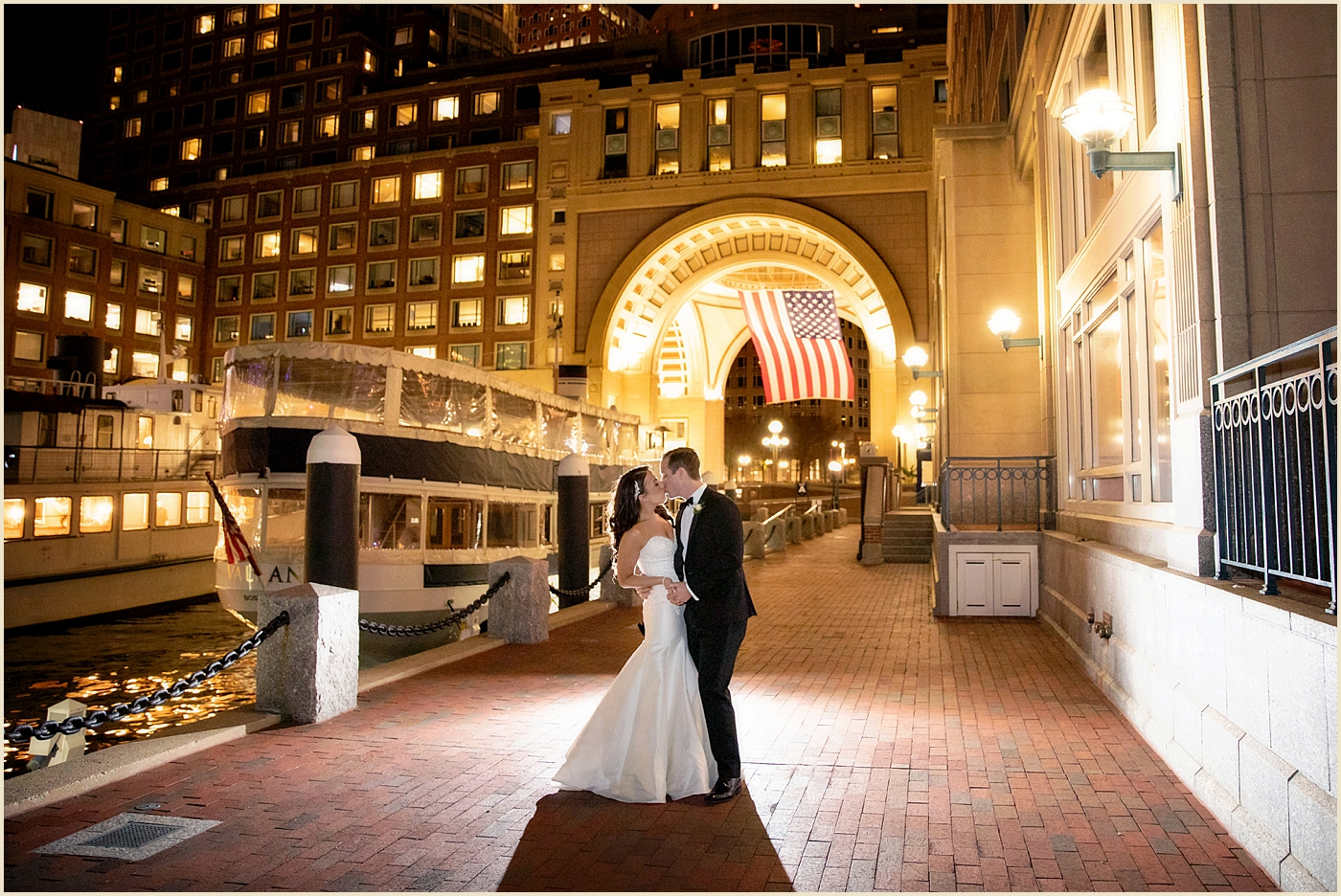 Waterfront Wedding Boston Harbor Hotel