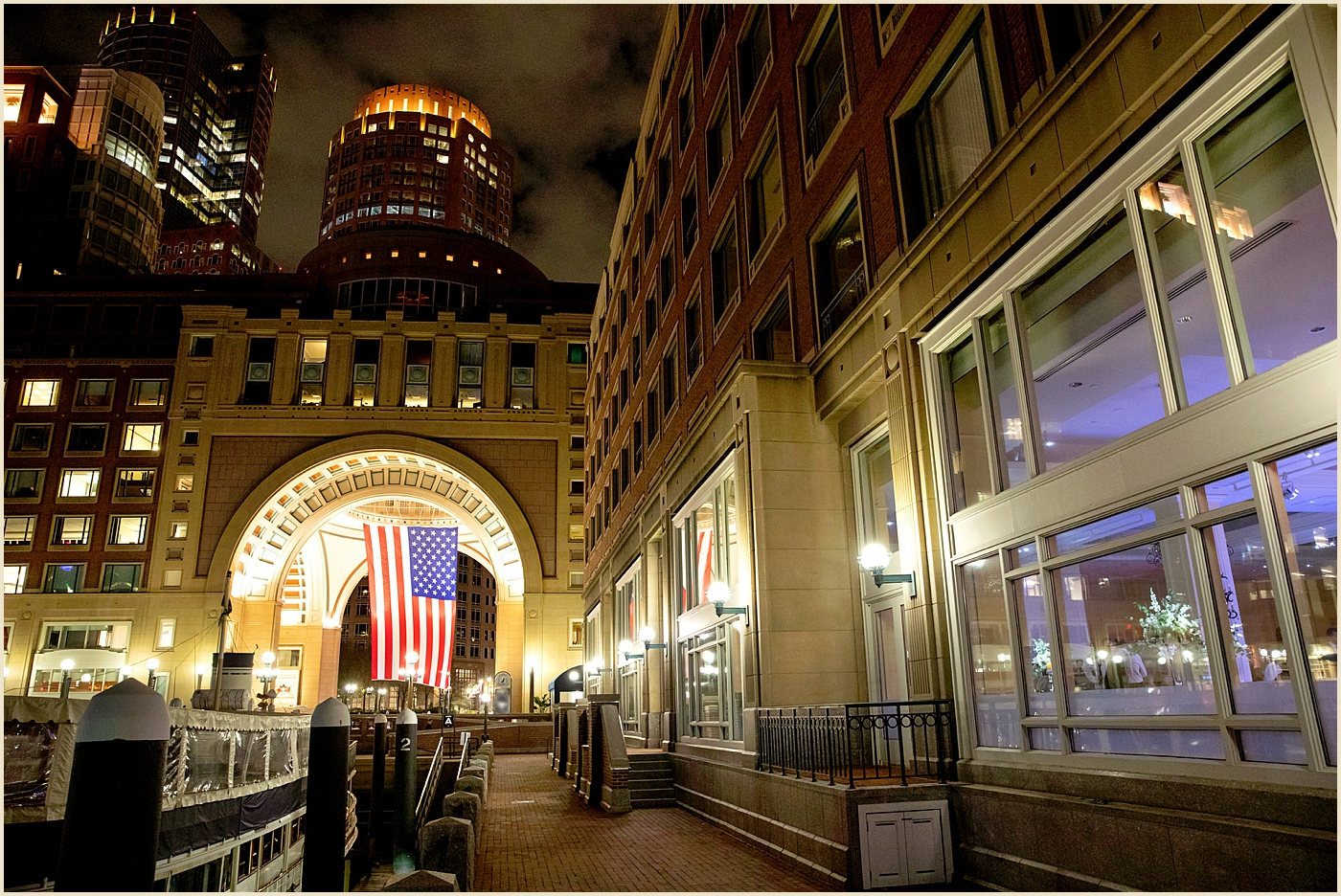 Rowes Wharf Wedding Venue Boston Harbor Hotel
