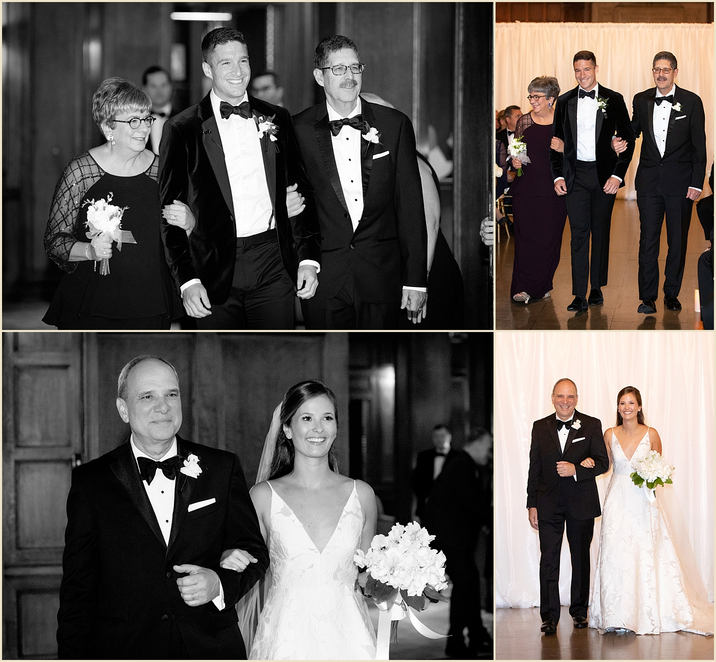 Harvard Club Boston Fall Wedding