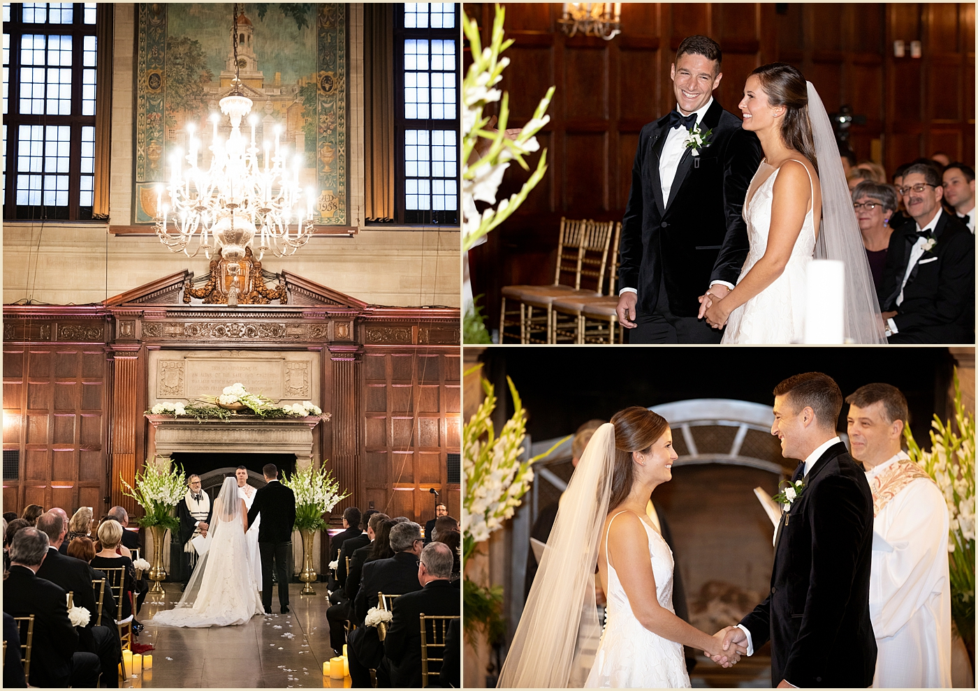 Harvard Club Boston Harvard Hall Wedding